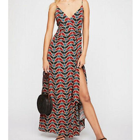 Free People Wrap Maxi Dress